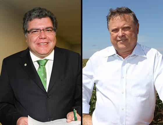 José Sarney Filho e Blairo Maggi (Foto: Alan Marques/Folhapress e Fernando Vilarin / Editora Globo)