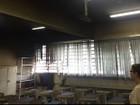 Vândalos invadem escola e ateiam fogo em salas de aula em Sorocaba