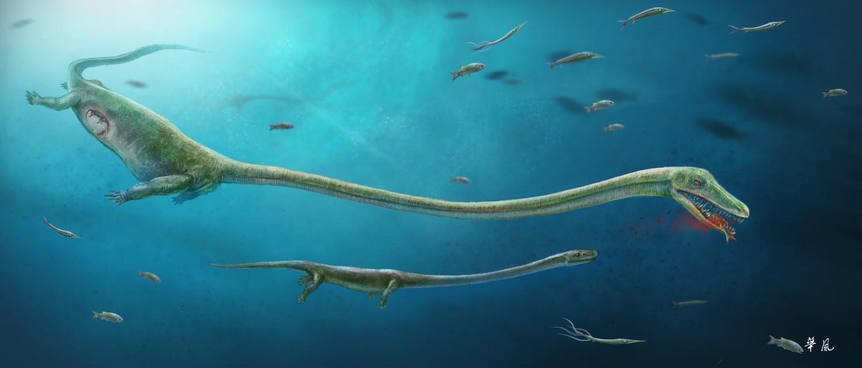 Fóssil de dinossauro que dava à luz em vez de botar ovos é encontrado