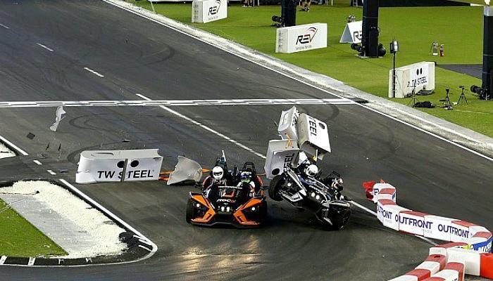 Pascal Wehrlein bate em Felipe Massa no Race of Champions