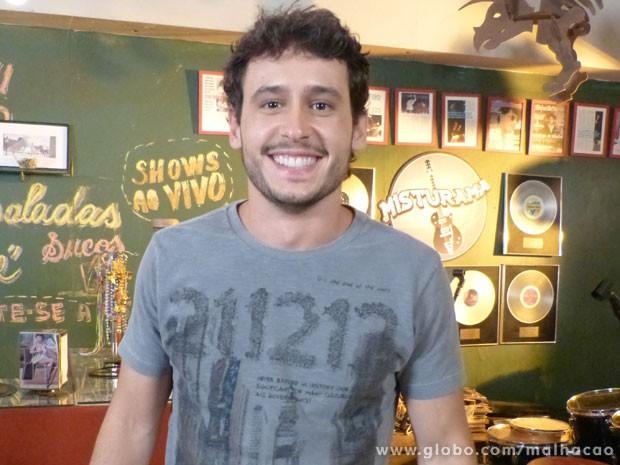 Tá procurando alguém? Guilherme Dellorto dá a dica! (Foto: Malhação / Tv Globo)
