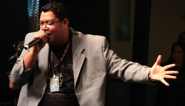 Anderson Freire vai levar todos os seus sucessos para o Festival Promessas (Foto: TV Anhanguera)