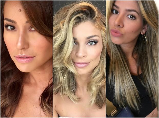 Sabrina Sato, Grazi Massafera e Adriana Santanna estão na lista (Foto: Reprodução/Instagram)