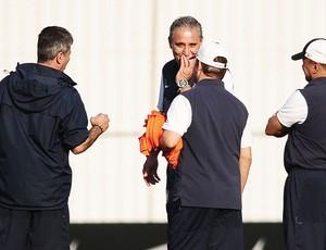 Tite Corinthians (Foto: Marcos Ribolli / Globoesporte.com)