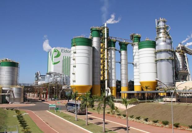 Unidade da Eldorado Brasil, que engloba a Eldorado Celulose (Foto: Divulgação)
