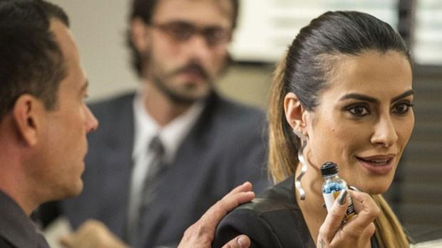 Tamara se descontrola com decisão de juiz em 'Haja' (divulgação)