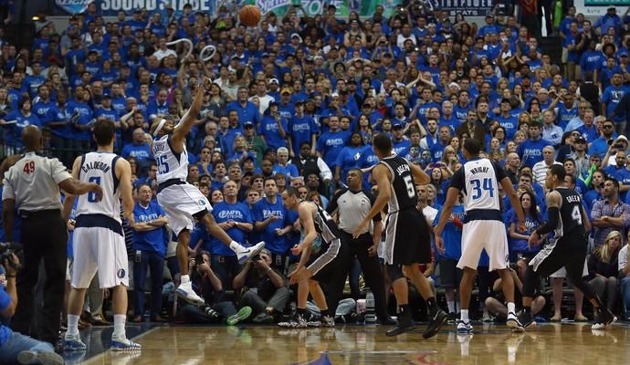 Basquete NBA - San Antonio Spurs v Dallas Mavericks, Vince Carter (Foto: Getty Images)