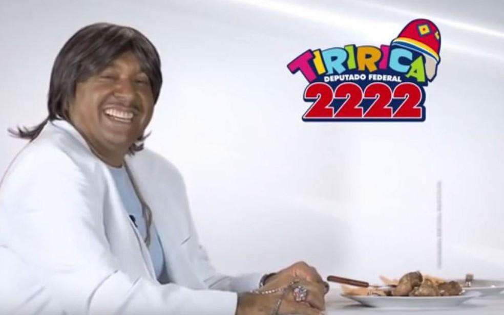 Tiririca é condenado a pagar indenização por usar música de Roberto Carlos em campanha (Foto: Reprodução)