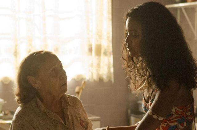 Ilva Niño grava 'Malhação: Pro dia nascer feliz' com Aline Dias (Foto: Maurício Fidalgo/TV Globo)