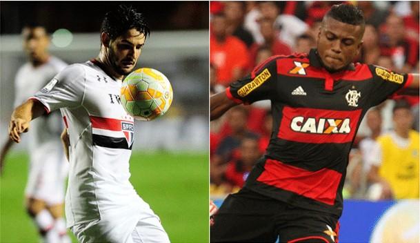 TV Rio Sul transmite neste domingo (10), São Paulo e Flamengo, pela 1ª rodada do Campeonato Brasileiro 2015 (Foto: globoesporte.com)