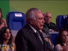 Temer não irá ao encerramento da Olimpíada, informa Planalto