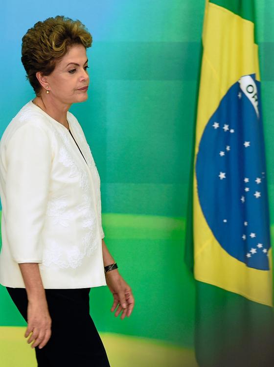 A ex-presidente Dilma Roussef (Foto:  EVARISTO SA/AFP)