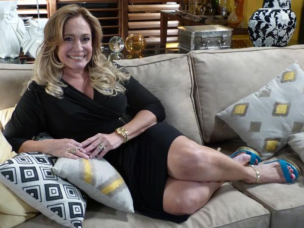 Suzana Vieira conta sobre a admiração que tem pelo povo do Peru (Foto: Amor à Vida / TV Globo)
