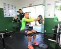No CFT, Maurides faz primeiro treino físico pelo Figueirense