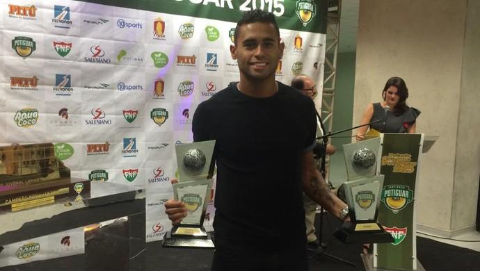 Kayke, atacante do ABC - craque do Campeonato Potiguar (Foto: Klênyo Galvão/GloboEsporte.com)