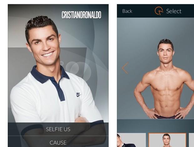 Selfie com Cristiano Ronaldo