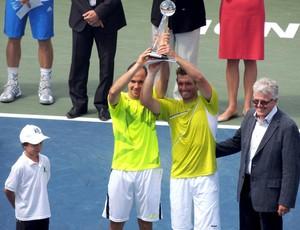 Tenis Bruno Soares e Alexandre Peya campeões Montreal (Foto: Reprodução/Twitter)