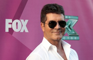 Simon Cowell  na première do reality show musical 'The X Factor' em Hollywood, nos Estados Unidos (Foto: Mario Anzuoni/ Reuters/ Agência)