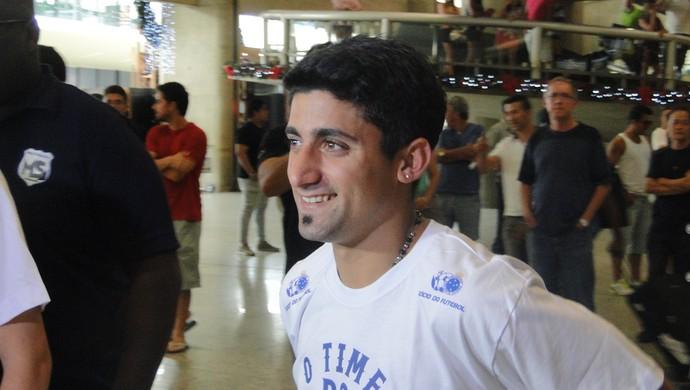 Matías Pisano Cruzeiro (Foto: Gabriel Duarte)