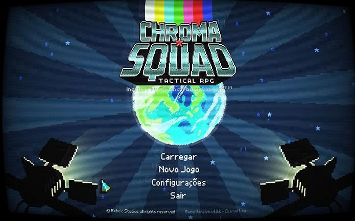 Em Chroma Squad você vive as aventuras de um grupo de heróis no estilo de Power Rangers (Foto: Reprodução/Felipe Vinha)