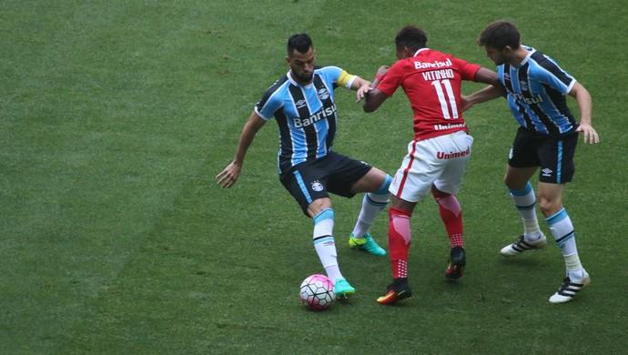 Gre-Nal Grêmio Inter (Foto: Eduardo Moura/GloboEsporte.com)