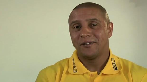 Roberto Carlos, ex-lateral, técnico do Sivasspor (Foto: Reprodução SporTV)