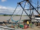 Ibama apreende em SC 14 toneladas de peixes capturados irregularmente