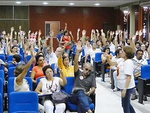 Professores da UFPB aprovam indicativo de greve para 15 de maio (Foto: Divulgação/Adufpb)