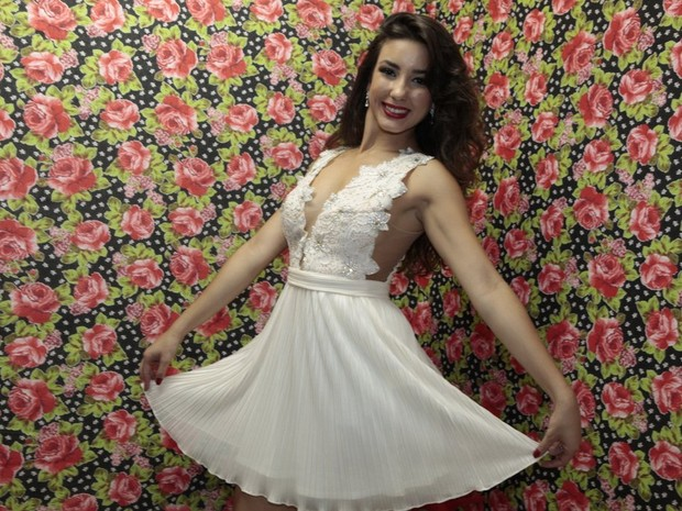 Irley Karina Nascimento de Melo, vencedora do Beleza Nordestina 2015 (Foto: Isac Luz/ EGO)
