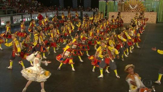 Quadrilha Evolução vence o Festival de Quadrilhas Juninas da Globo
