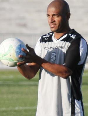 Leandrinho, atacante do Treze (Foto: Julio Cezar / Jornal da Paraíba)