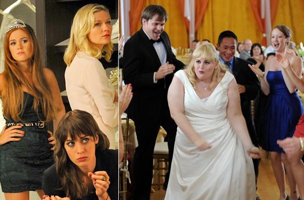 Becky (Rebel Wilson) convida as antigas colegas de classe para serem suas madrinhas (Foto: Divulgação/Reprodução)