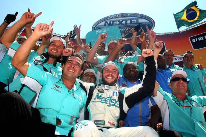 Em 2008, Ricardo Maurício foi o campeão da Stock Car (Foto: Divulgação)