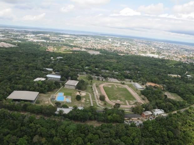 Área do campus da Ufam é de 700 hectares (Foto: Divulgação/ Ufam)