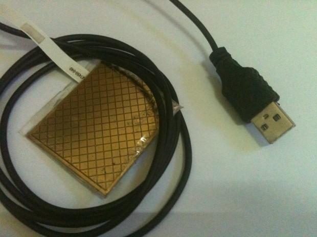 Mouse é colocado na boca e com a lingua o usuário movimento o cursor na tela do computador (Foto: Arquivo Pessoal / Edson Ruivo)