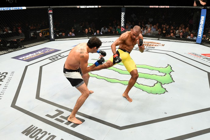 Edson Barboza x Gilbert Melendez UFC Chicago (Foto: Getty Images)