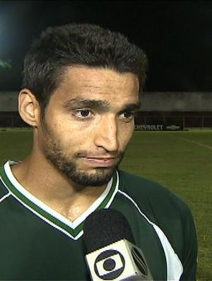 Falcão- atacante do Amadense (Foto: Reprodução/Tv Sergipe)