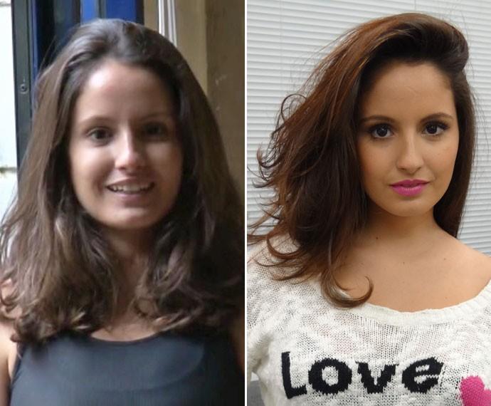 Amanda de Godoi adotou madeixas avermelhadas para sua personagem Fernanda (Foto: Tv Globo / Gabriel Nascimento/ Gshow)