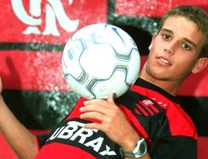 Nélio jogador do Flamengo (Foto: Marcelo Regua / Ag. O Dia)