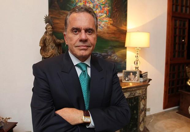 O banqueiro Cid Ferreira, ex-dono do banco de Santos, em 2011 (Foto: Evelson de Freitas/Estadão Conteúdo/Arquivo)