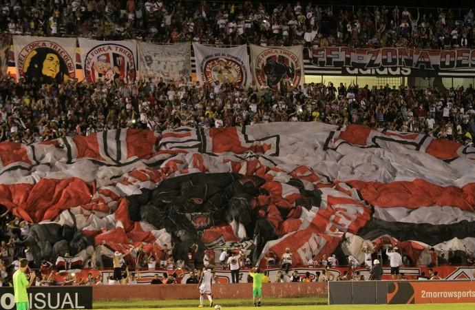 Torcida do Botafogo-SP (Foto: Rogério Moroti/Ag. Botafogo)
