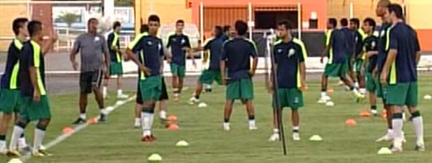 Luverdense diminui ritmo de treinos para recuperar o elenco (Foto: Reprodução/TVCA)