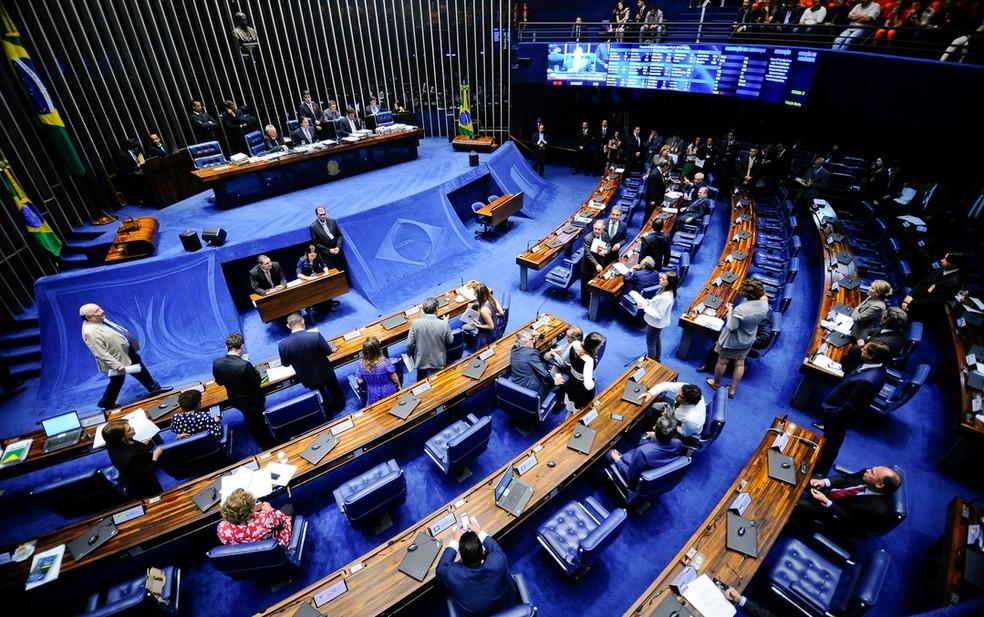 O plenário do Senado (Foto: Marcos Oliveira/Agência Senado)