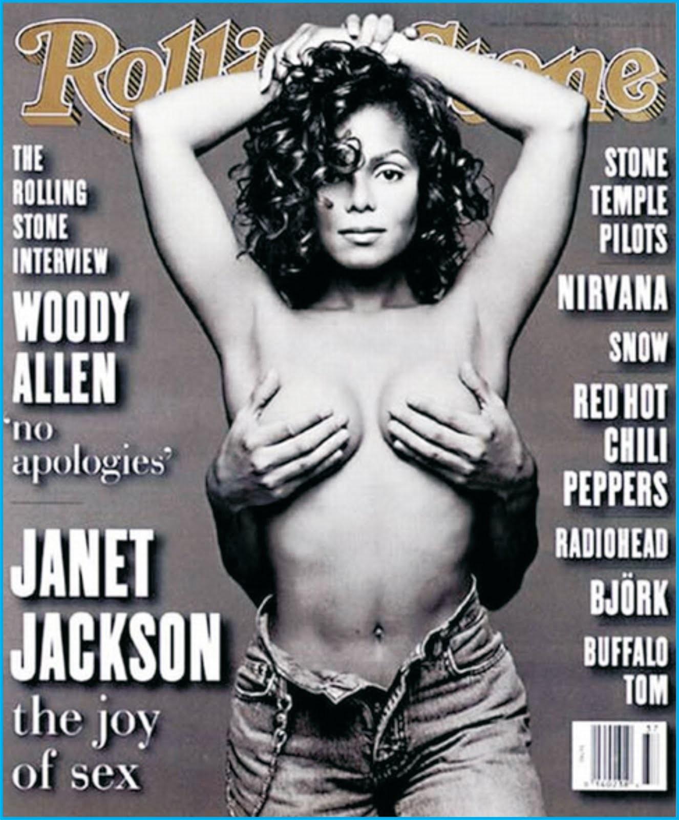 Janet Jackson na 'Rolling Stone' de setembro de 1993. (Foto: Reprodução)