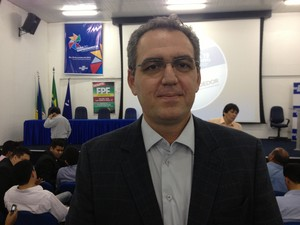 Economista Charles Chelala mensurou perdas do FPE para o Amapá (Foto: Abinoan Santiago/G1)