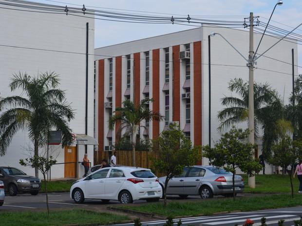 Campus da Unicamp, em Campinas (Foto: Reprodução/ EPTV)
