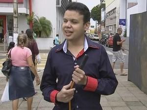 Wesley Bueno, presidente do Condef, comemora mudanças (Foto: Reprodução/ TV TEM)