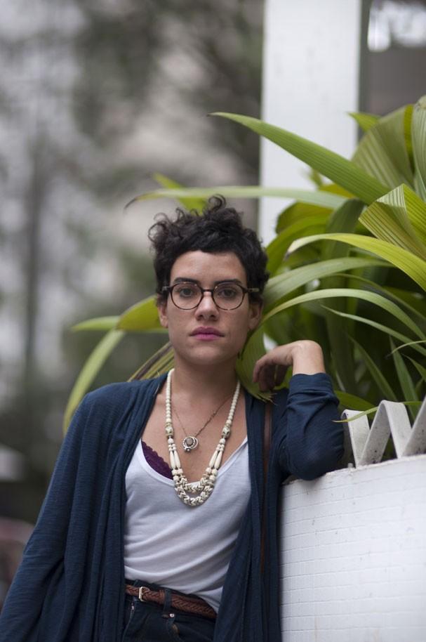 Adelaide Ivánova, editora do zine anarcofeminista MAIS PORNÔ PVFR (Foto: Pedro Pinho )