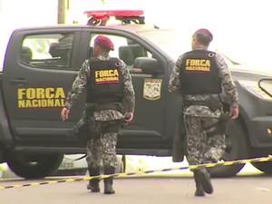 Além do incremento do policiamento ostensivo e mais integrantes da Força Nacional aqui em Porto Alegre, haverá também um acréscimo de policiais civis e peritos criminais (Foto: Reprodução/RBS TV)
