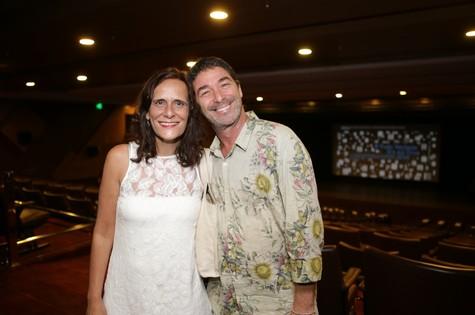 PAOLA VIEIRA e Julio Worcman (Foto: Rodrigo Gorosito)